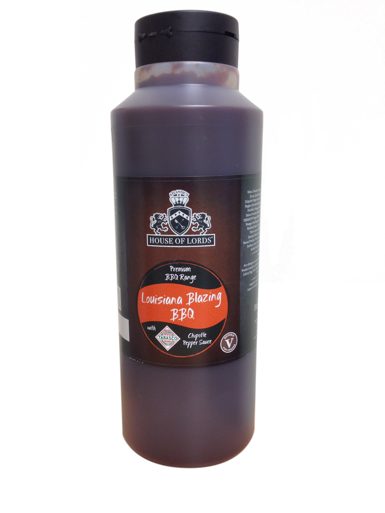 Louisiana Blazing BBQ 1 litre