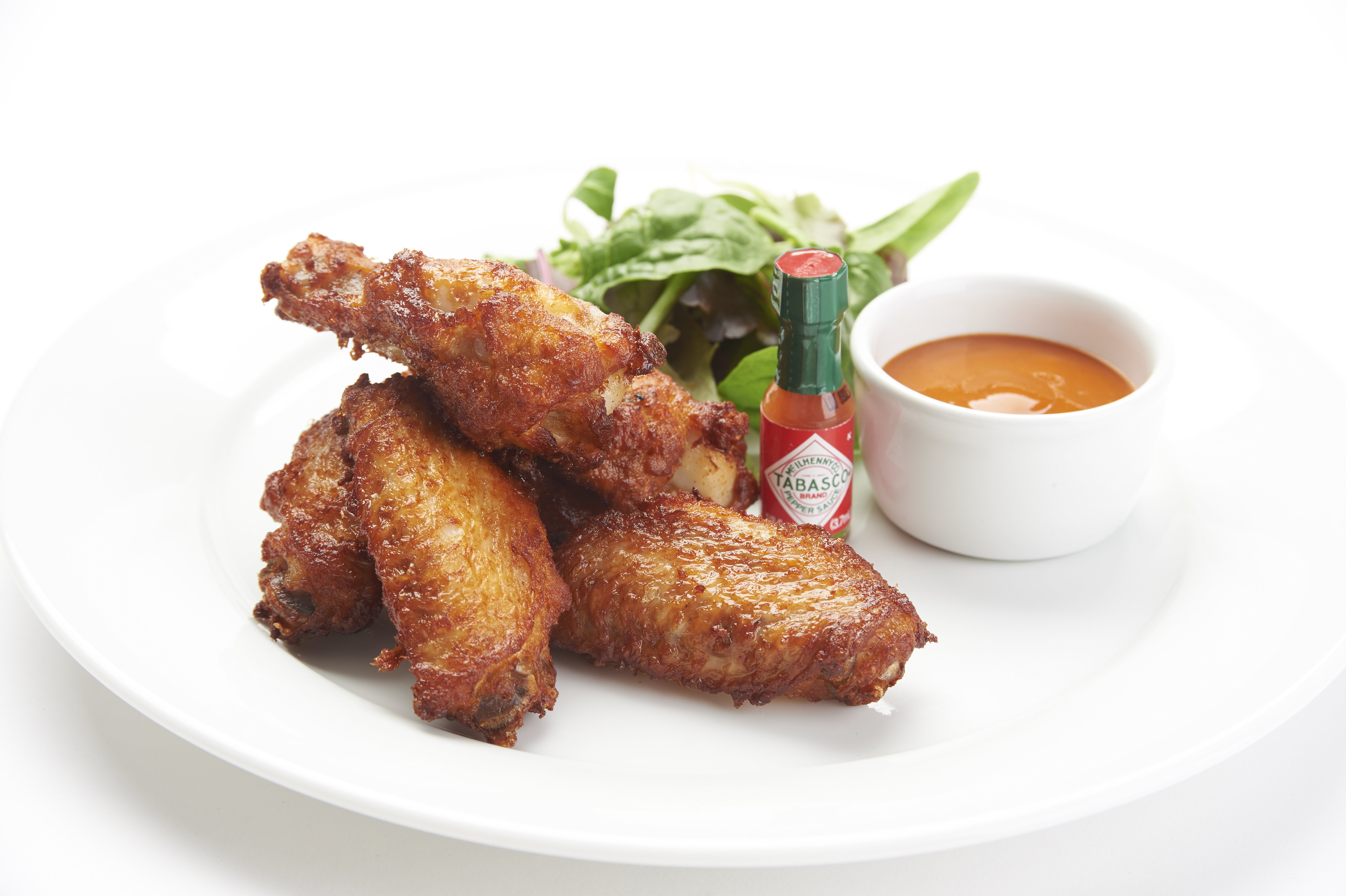 Spice n Easy Cooked Chicken Wings with TABASCO brand seasoning