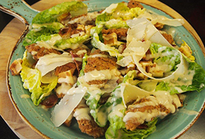 Southern Fried Caesar Salad