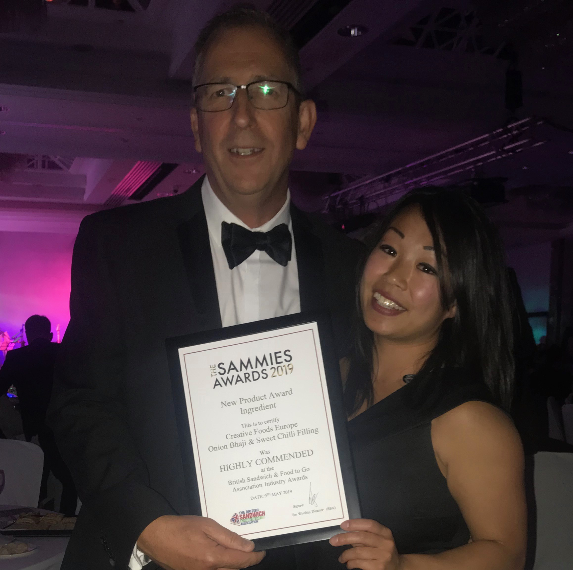 Highly Commended Sammies